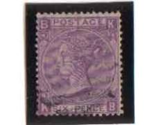 1869 - LOTTO/3528 - GRAN BRETAGNA - 6p. VIOLETTO -TAV. 9