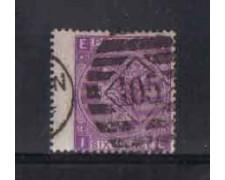 1869 - LOTTO/3529 - GRAN BRETAGNA - 6p. VIOLETTO - TAV.8
