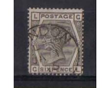 1874 - LOTTO/3542 - GRAN BRETAGNA - 6p. GRIGIO - TAV.13