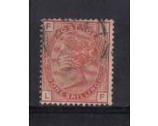 1881 - LOTTO/3550 - GRAN BRETAGNA - 1 Sc. ROSSO