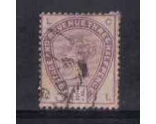 1883/84 - LOTTO/3554 - GRAN BRETAGNA - 1,5p. VIOLETTO