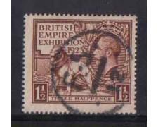 1925 - LOTTO/3560 - GRAN BRETAGNA - EXPO WEMBLEY - USATO