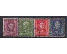 1949 - LOTTO/3600 - GERMANIA FEDERALE - BENEFICENZA I° SERIE