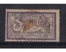 1900 - LOTTO/3631 - FRANCIA - 2 Fr. VIOLETTO GIALLO