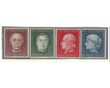 1954 - LOTTO/3633 - GERMANIA FEDERALE - BENEFICENZA V° SERIE