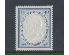 1955 - LOTTO/3635A - GERMANIA FEDERALE - VON SCHILLER