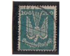 1924 - LOTTO/3647 - GERMANIA REICH - 200p. POSTA AEREA