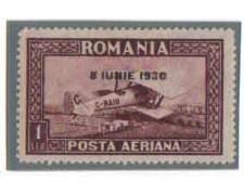 1930 - LOTTO/3665 - ROMANIA - POSTA AEREA - TL