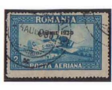 1930 - LOTTO/3666 - ROMANIA - POSTA AEREA - USATO