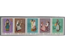 1973 - LOTTO/3671 - FINLANDIA - COSTUMI NAZIONALI