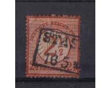 1874 - LOTTO/3673 - GERMANIA IMPERO - 2,5 SU 2,5 Gr.