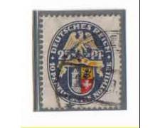 1929 - LOTTO/3678 - GERMANIA REICH - 25+10p. STEMMA MEKLENBURG