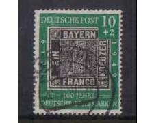 1949 - LOTTO/3687 - GERMANIA FEDERALE - 10+2p. CENT. FRANCOBOLLO