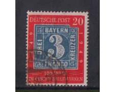 1949 - LOTTO/3688 - GERMANIA FEDERALE - 20p. CENT. FRANCOBOLLO