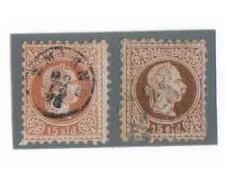 1867/75 - LOTTO/3699 - AUSTRIA LEVANTE - 15s. BRUNO