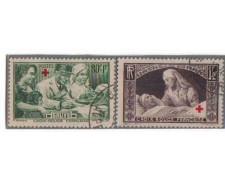 1940 - LOTTO/FRA460CPU - FRANCIA - PRO CROCE ROSSA - USATI