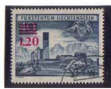 1952 - LOTTO/3800 - LIECHTENSTEIN - CHIESA DI BENDEN