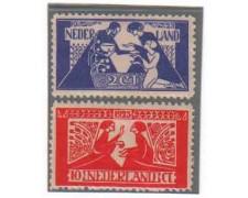 1923 - LOTTO/8642 - OLANDA -  PRO OPERE CULTURALI -