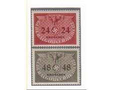 1940 - POLONIA OCCUPAZ. TEDESCA - LOTTO/3816 - SEGNATASSE