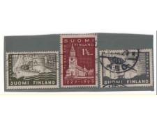 1929 - LOTTO/3486 - FINLANDIA -  CITTA' DI TURKU