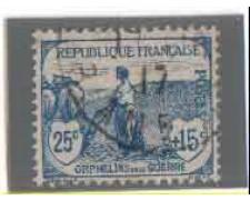 1917/19 - LOTTO/FRA151U - FRANCIA - PRO ORFANI DI GUERRA - USATO