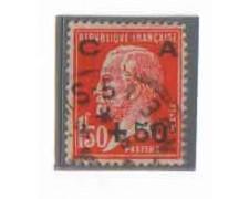 1927 - LOTTO/FRA248U - +50 SU 1,50 CASSA D'AMMORTAMENTO - USATO
