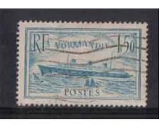 1935/36 - LOTTO/FRA300U -  FRANCIA - 1,50 Fr. NORMANDIE - USATO