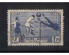 1938 - LOTTO/FRA396U - FRANCIA - MONDIALI CALCIO - USATO