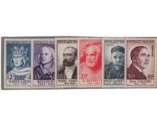 1954 - LOTTO/FRA994CPN - FRANCIA - UOMINI ILLUSTRI - NUOVI