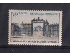 1954 - LOTTO/FRA988N - FRANCIA - 18 Fr. CASTELLO VERSAILLES - NUOVO