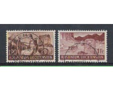 1937/38 - LOTTO/3994 - LIECHTENSTEIN - VEDUTE