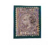1867 - LOTTO/4007 - OLANDA - 25c. VIOLETTO - USATO