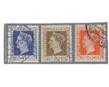1947 - LOTTO/8715U - OLANDA - REGINA GUGLIELMINA 3v. USATI