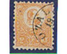 1871 - LOTTO/4035 - UNGHERIA - 2 Kr. ARANCIO