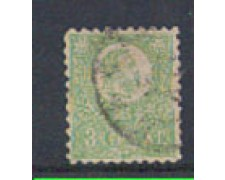 1871 - LOTTO/4036  - UNGHERIA - 3Kr. VERDE