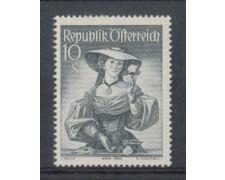 1948/50 - LOTTO/4078 - AUSTRIA - 10 Sc. COSTUMI