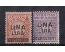 1925 - LOTTO/4213 - REGNO - SERVIZIO COMMISSIONI - TL
