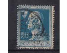 1927  - LOTTO/CIR44U - CIRENAICA -  1,25 A. VOLTA. - USATO