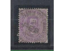 1889 - LOTTO/REG47U - REGNO - 60c. VIOLETTO UMBERTO I° - USATO