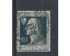 1927 - LOTTO/REG211UDA - REGNO -  50c. A. VOLTA VARIETA'