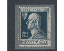 1927 - LOTTO/REG211UM - REGNO - 50c. A.VOLTA - VARIETA'