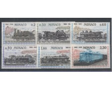1968 - LOTTO/4367 - MONACO - CENTENARIO FERROVIA LOCOMOTIVE