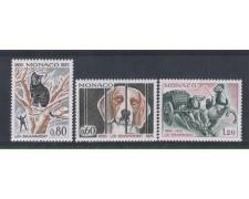 1975 - LOTTO/4370 - MONACO - PROTEZIONE ANIMALI 3v.