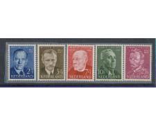 1954 - LOTTO/8747 - OLANDA - BENEFICENZA UOMINI ILLUSTRI