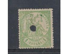 1874 - LOTTO/4396 - SPAGNA - 1p. VERDE
