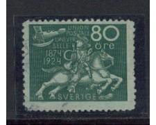 1924 - LOTTO/4440 - SVEZIA - 80o. CONGRESSO U.P.U