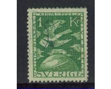 1924 - LOTTO/4441 - SVEZIA - 1 Kr. ANNIVERSARIO U.P.U