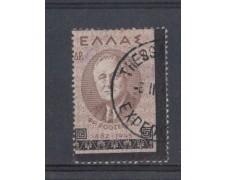 1945 - LOTTO/4542 - GRECIA - 30d. ROOSEVELT - VARIETA'