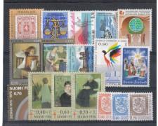 1975 - LOTTO/4742 - FINLANDIA - ANNATA COMPLETA 17v.