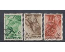 1940 - LOTTO/4797 - UNGHERIA - POSTA AEREA FONDAZIONE HORTHY 3v.